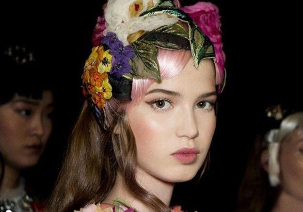 Aperçu du nouveau Matte Lipstick Dolce e Gabbana en backstage du défilé