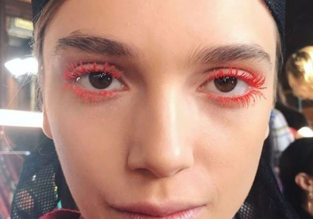 Le maquillage pop signé Peter Philips pour Dries van Noten