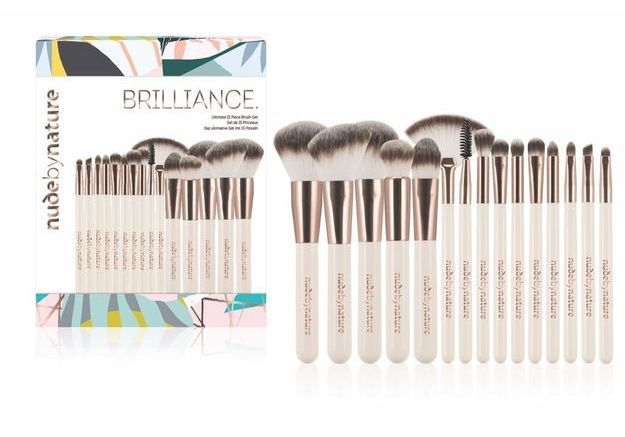 Set de 15 pinceaux Brilliance - Nudebynature
