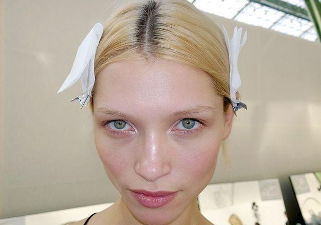 Le maquillage du défilé Vanessa Bruno