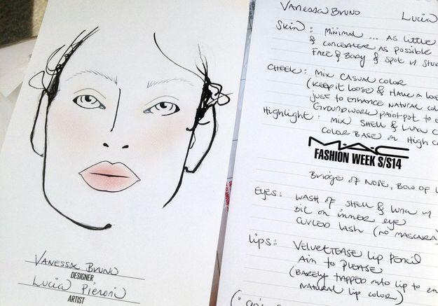 """""""Un maquillage très naturel de skateuse des années 1990"""""""
