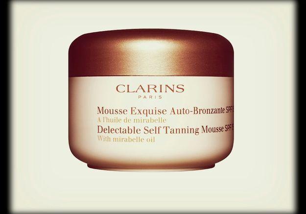 Mousse Exquise Auto-Bronzante SPF 15, Clarins