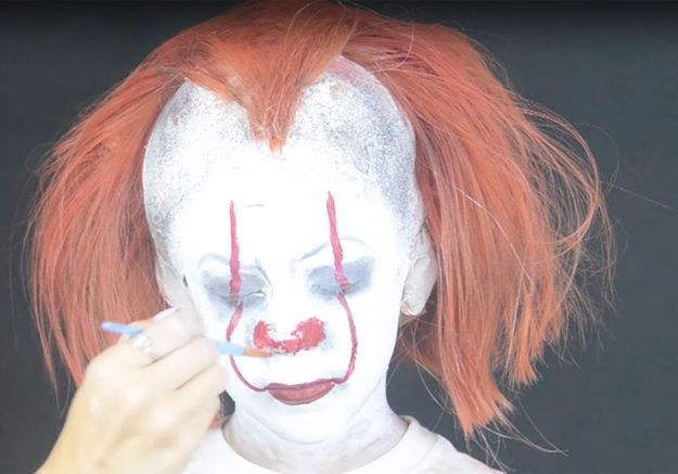 Maquillage d'Halloween pour enfant : le clown Ca
