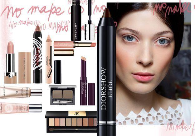Tendance « no make-up » : les 15 make-up qu'il vous faut quand même !