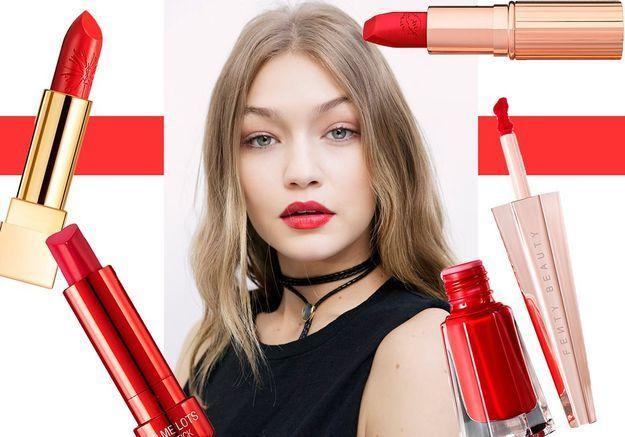 Le rouge à lèvres rouge qu'il vous faut pour la Saint-Valentin