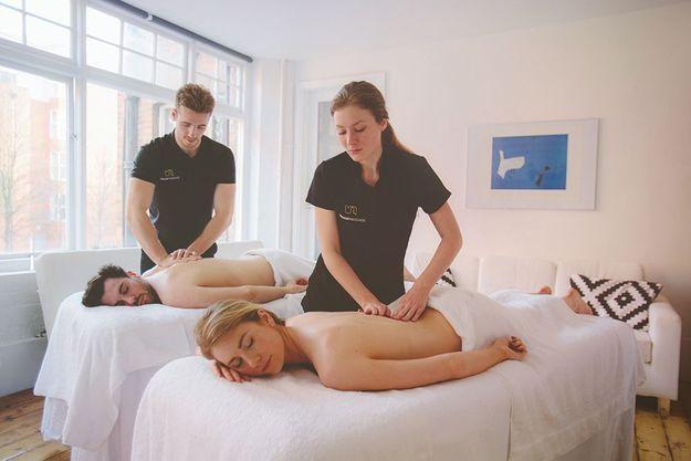 Le massage couple d'Urban Massage : le plus pratique
