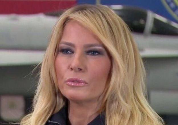 Melania Trump après