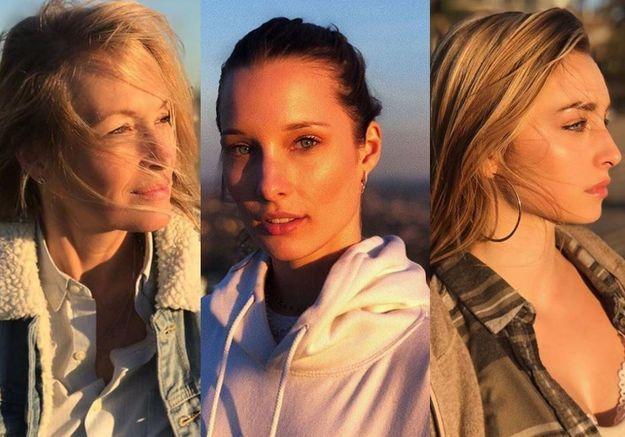 Estelle Lefébure, Emma et Ilona Smet : trio glamour à Los Angeles pour Nouvel An