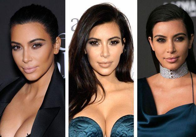 On sait pourquoi Kim Kardashian ne sourit pas sur les photos