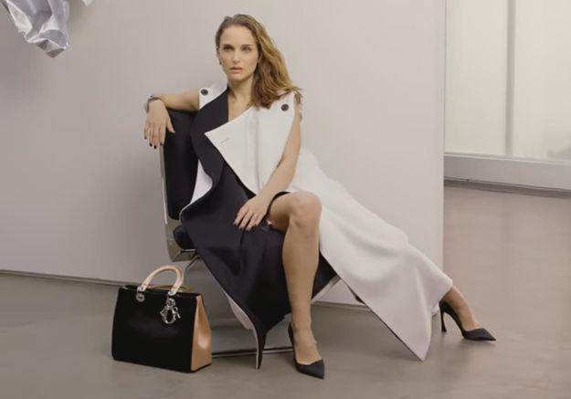 #PrêtàLiker : Natalie Portman, coquette dans le making of de la nouvelle campagne Dior