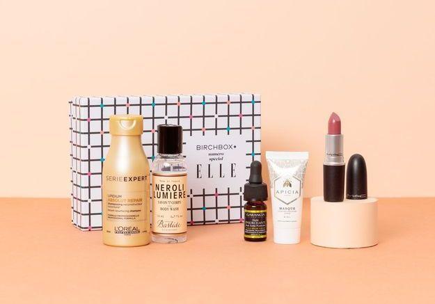 En septembre, Birchbox s'associe au magazine ELLE pour une box beauté pleine de surprises