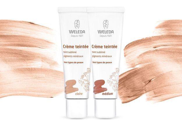 #ELLEBeautyCrush : la crème teintée Weleda, le secret d'un teint healthy