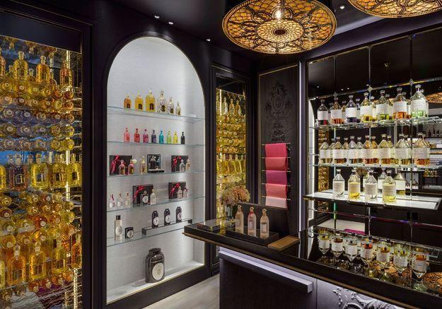#ELLEBeautySpot : la nouvelle boutique Guerlain et ses flacons multicolores