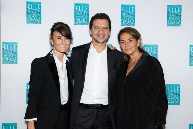 Valeria Bessolo Llopiz, François Coruzzi, Constance Benqué (ELLE International)