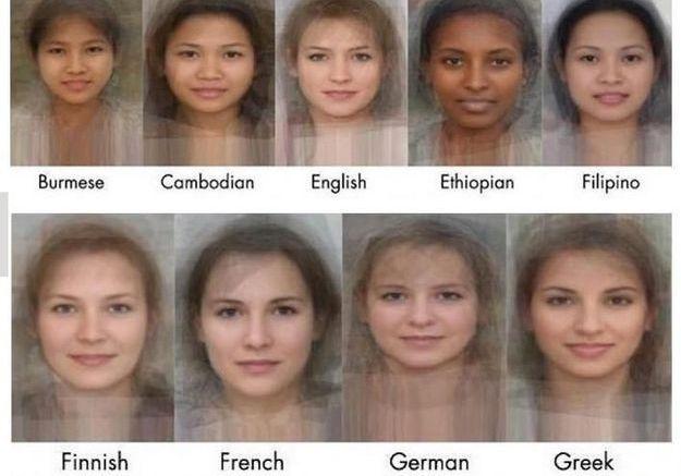 Quel est le visage moyen des femmes à travers le monde ?