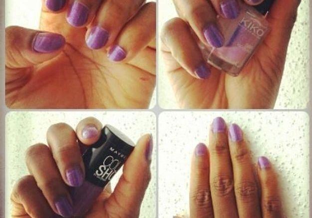 Le vernis violet de Ndy-BeautyTips