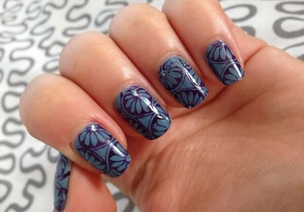 Les nails patch fleuris de Mademoiselle Pinpin