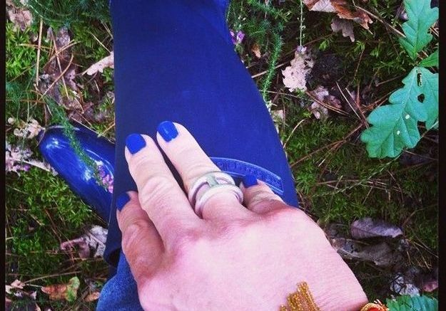 Vernis bleu roi de monbazarorganise