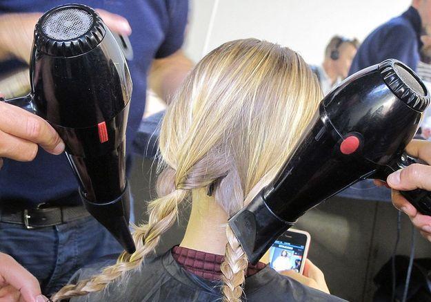 11-Laisser sécher à l'air libre 30 minutes ou sécher au sèche-cheveux