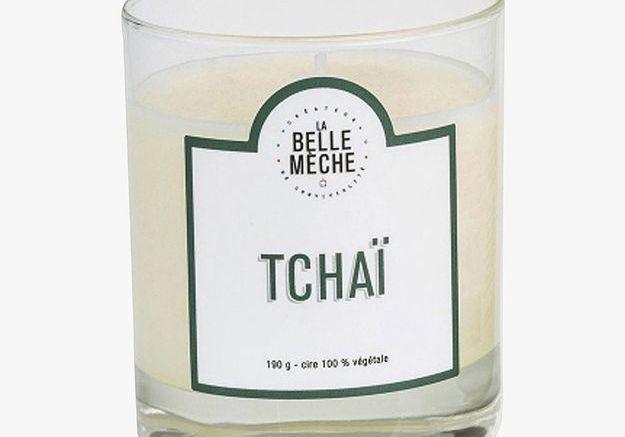 Bougie parfumée Tchaï de La Belle Mèche