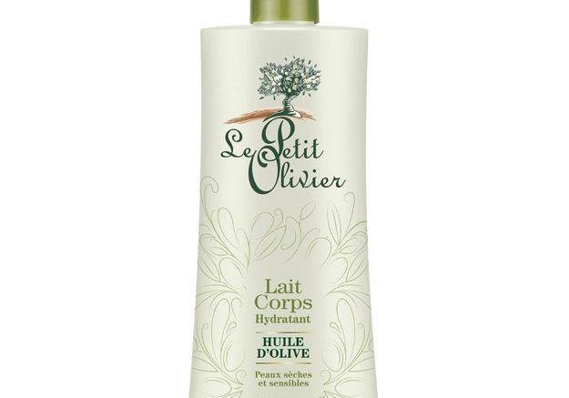 Lait corps hydratant huile d'olive, Le Petit Olivier, 4,73€