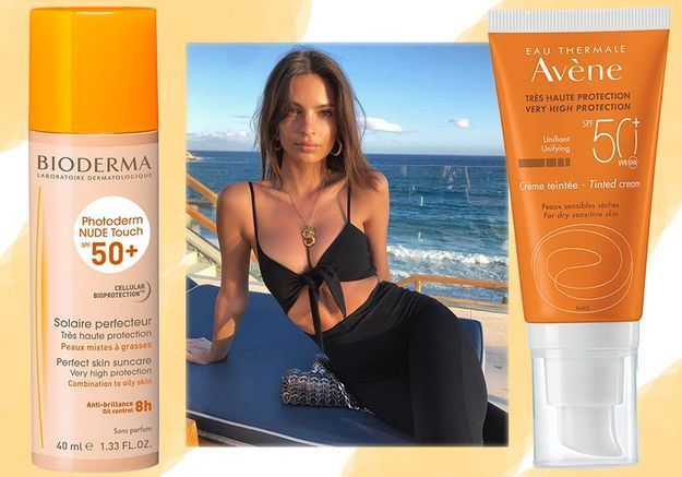 10 crèmes solaires teintées pour être au max cet été