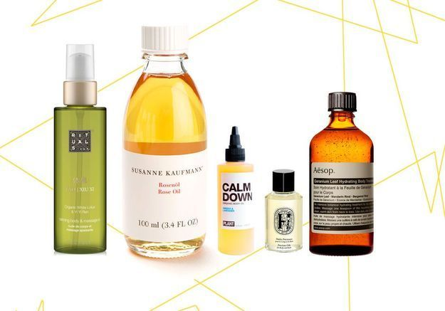15 huiles de massage chics pour être zen
