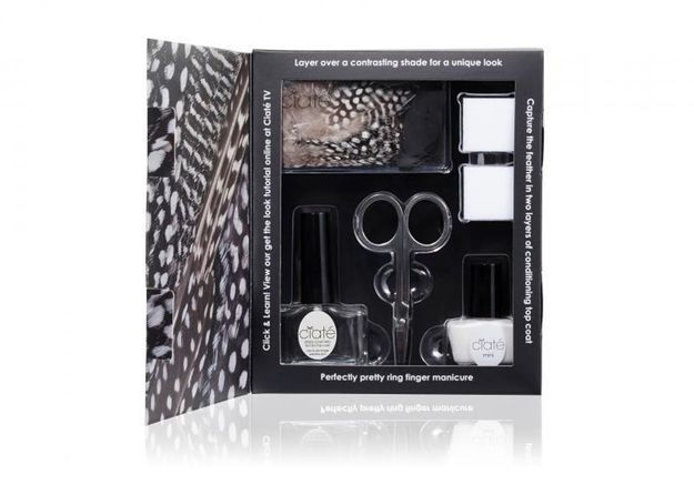 Kit « Feathered Manicure », Ciaté