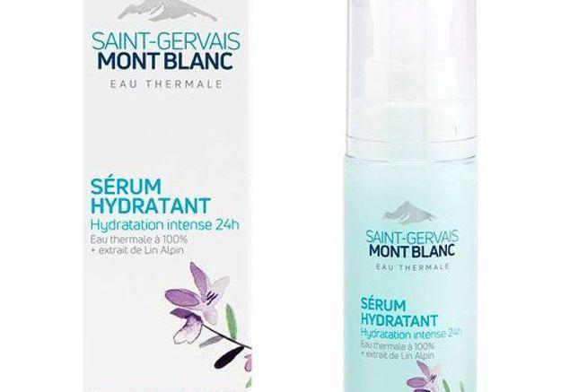 Sérum hydratant, Saint Gervais Mont Blanc