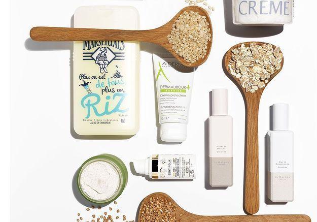 Des soins aux céréales pour ma peau