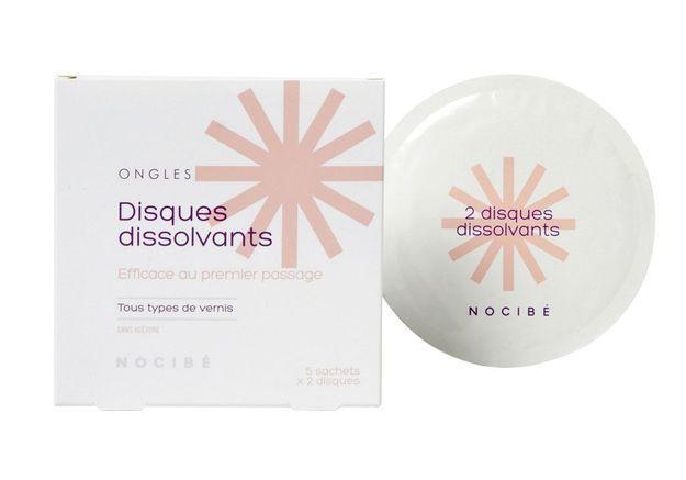 Disques dissolvants, Nocibé, 5.90€
