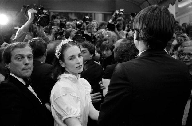"""Montée des marches en 1981 pour le film """"Possession"""""""