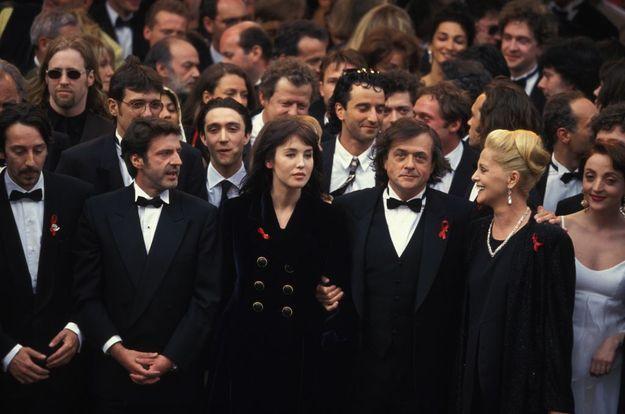 Montée des marches pour La Reine Margot, en 1994