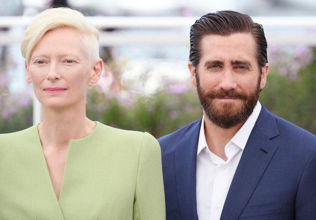 Cannes 2017 : Tilda Swinton et Jake Gyllenhaal présentent « Okja »