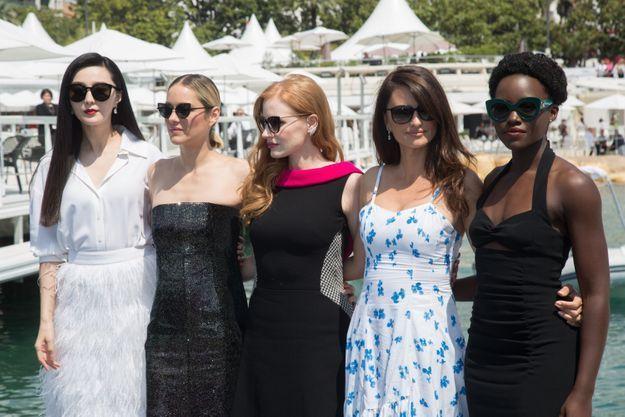 Les actrices ont illuminé la Croisette