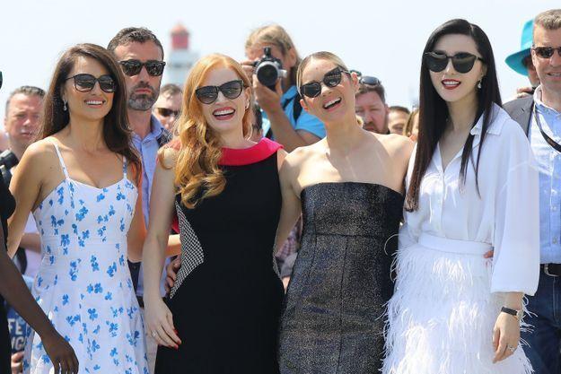 Ells ont posé sous le soleil de Cannes