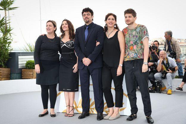 Le jury a pris la pose ensemble !