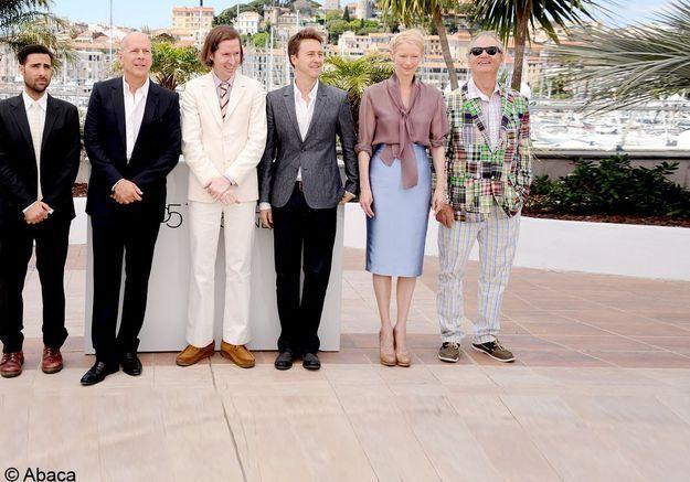 "Bruce Willis et Tilda Swinton inaugurent le festival de Cannes avec ""Moonrise Kingdom"""