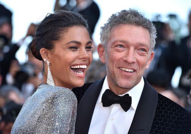 Cannes 2018 : Vincent Cassel et Tina Kunakey, l'amour fou sur le tapis rouge