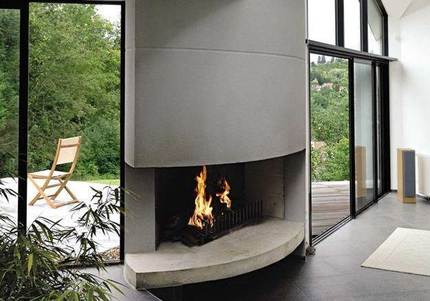 La cheminée comme élément d'architecture