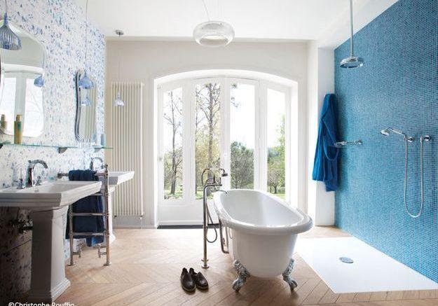 Tendance : les salles de bains à l'ancienne