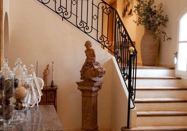 Escaliers en fonte
