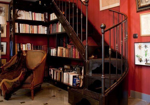 Escaliers en métal