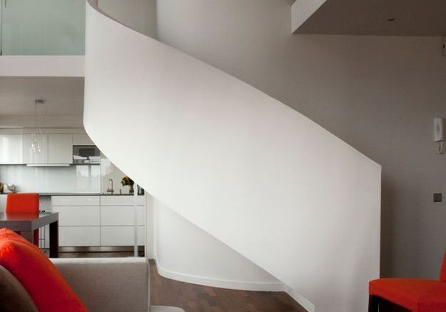 Escaliers en plâtre ou béton