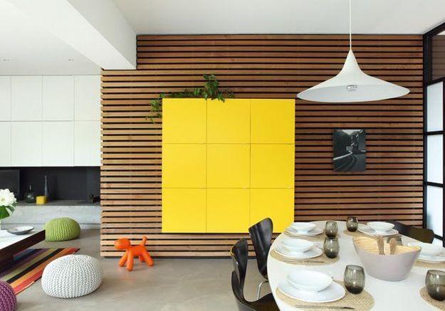 Tendance : le bois habille nos murs