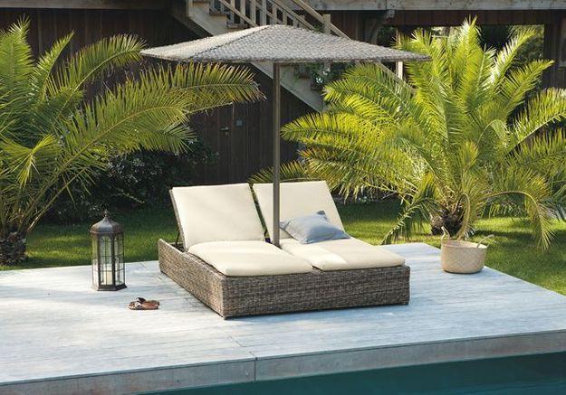 Bain De Soleil Double Bali Maisons Du Monde