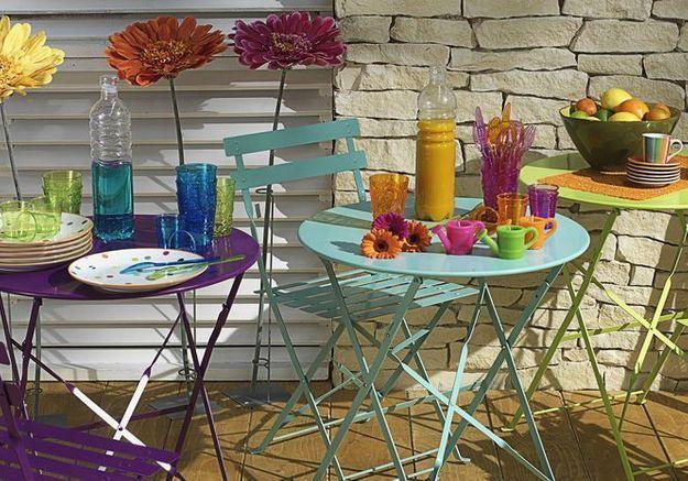 Chaise Et Table Confetti Maisons Du Monde
