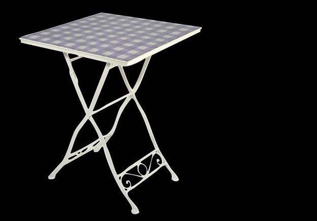 Table Carreau Lavande J Line