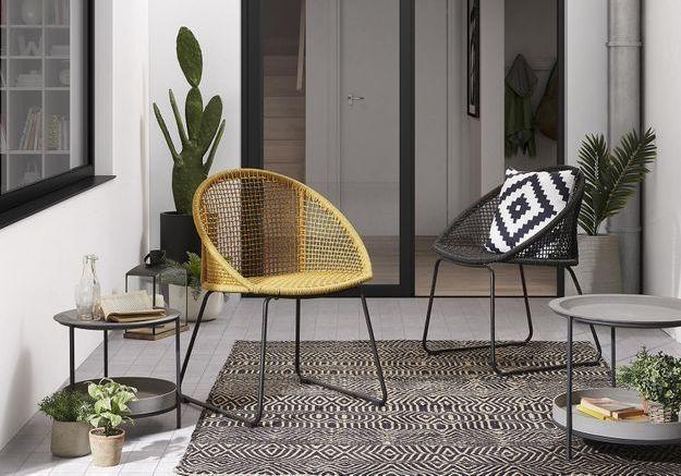 Une table de balcon Kave Home