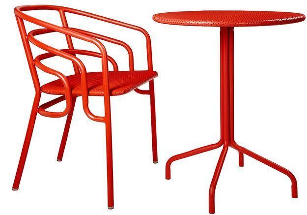 Chaise et table Dock, Habitat